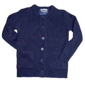 🆕 Navy Blue Button down Knit Cardigan Sweater